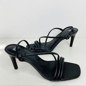 BP Women's Black Strappy High Heels Size 9